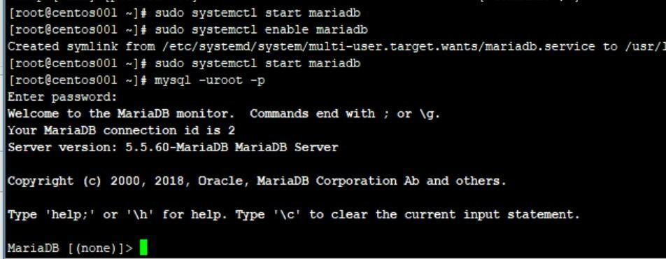 Centos7 Mariadb 数据库导出、导入命令