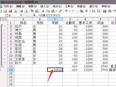 如何使用Excel计算员工薪水? Excel计算员工的工资